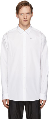 Oamc White How Are You Now Shirt