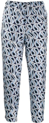Marni Cropped Printed Trousers