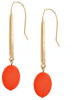 Kenneth Cole New York Natural Wonder Shell Bead Long Drop Earring