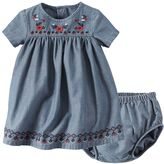 Carter's Baby Girl Floral Chambray Dress