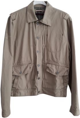 Levi's Beige Cotton Jackets