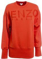 Kenzo Logo Embroidered Sweatshirt