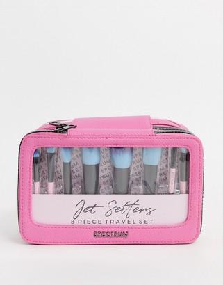 Spectrum Pink Jet Setter Makeup Brush Set