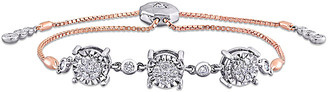 Diamond Select Cuts 14K 0.76 Ct. Tw. Diamond Bracelet