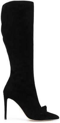 Alexandre Birman Bow Detail Knee-High Boots