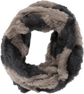 Jocelyn Rabbit Fur Infinity Scarf w/ Tags