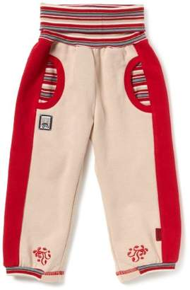 """Sterntaler 76933 Tracksuit Bottoms with""""Sheep"""" Label and Ornament Sheep Embroidery Natural Colour No. 49 - Beige - 0-3 Months"""