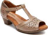 Rockport Women's Cobb Hill Alyssa Perforated T-Strap Sandal