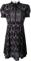 Valentino Love Blades mini dress - women - Silk/Cotton/Polyamide - 42