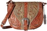 American West Blazing Saddle Saddle Flap Crossbody