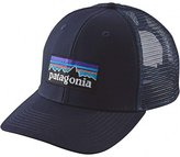 Patagonia P-6 Logo Trucker Hat Navy Blue