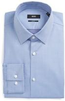 BOSS Men's Isko Slim Fit Geometric Dress Shirt