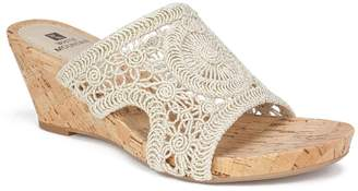 White Mountain Footwear Amherst Cork Wedge Sandal