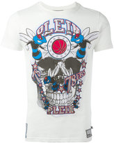 Philipp Plein skull T-shirt - men - Cotton/Polyester/Polyurethane - L