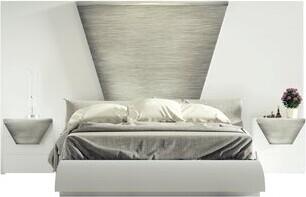 Orren Ellis Solid Wood Standard Bed Size: King