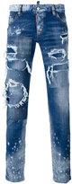 DSQUARED2 distressed jeans - men - Cotton/Spandex/Elastane - 52
