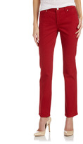 Not Your Daughter's Jeans Straight-Leg Jeans, Jasper Red