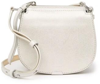 AllSaints Glitz Mini Round Crossbody Bag