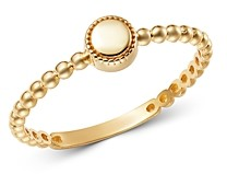 Moon & Meadow 14K Yellow Gold Circle Ring - 100% Exclusive