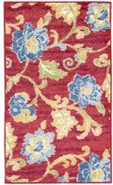 Waverly Aura of Flora Refresh Lipstick Area Rug by Nourison (7'9 x 9'9)