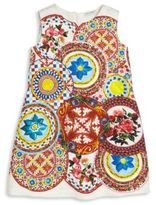 Dolce & Gabbana Toddler's, Little Girl's & Girl's Floral Print Sleeveless Dress