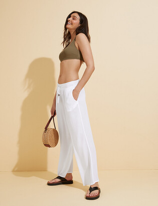 Marks and Spencer Crinkle Beach Trousers