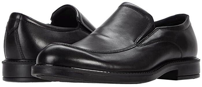 Ecco Mens Leather Slip-ons | over 50