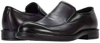 Ecco Vitrus III Apron Toe Slip-On (Black) Men's Shoes
