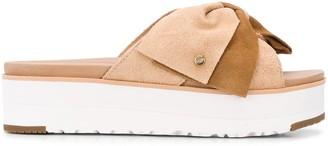 UGG Joanie bow strap sandals