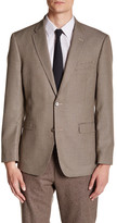 Tommy Hilfiger Ethan Brown Houndstooth Two Button Notch Lapel Suit Separates Jacket