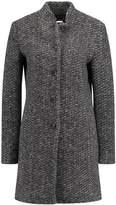 More & More Classic coat mid grey melange