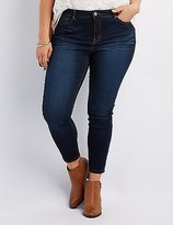 Charlotte Russe Plus Size Refuge Hi-Rise Skinny Jeans