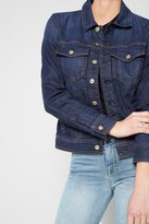 7 For All Mankind Classic Denim Jacket In Eden Port