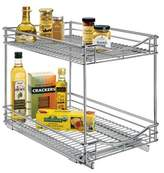 "Lynk Professional® Pull Out Double Drawer - 2 Tier Sliding Cabinet Organizer 14""w x 18""d"