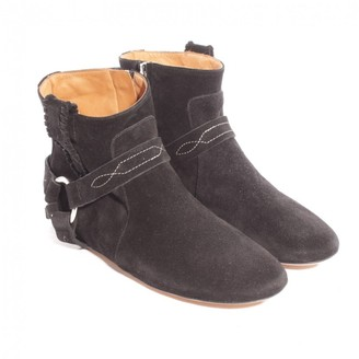 Etoile Isabel Marant \N Black Suede Ankle boots