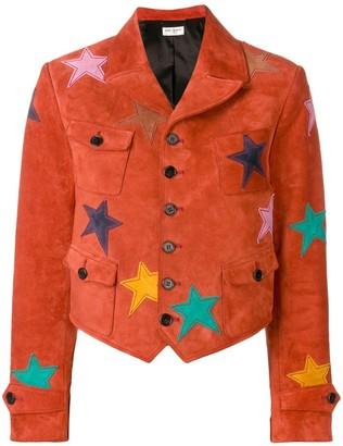 Saint Laurent Star Patch Jacket