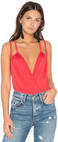 Rachel Pally Coty Bodysuit in Red. - size L (also in M,S,XS)