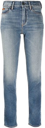 Ralph Lauren Collection Light-Wash Slim Fit Jeans