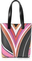 Emilio Pucci Stella Printed Eco Leather Medium Tote