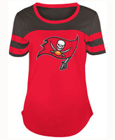 5th & Ocean Women's Tampa Bay Buccaneers Limited Edition Rhinestone T-Shirt