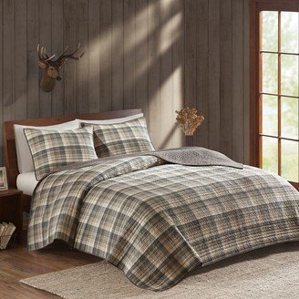 Woolrich 3-piece Tasha Plaid Quilt Set