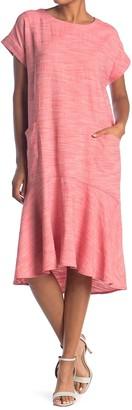 Hyfve Mermaid High/Low Pocket T-Shirt Dress