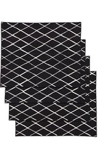Minted Criss Cross Set Of 4 Placemats