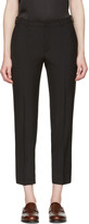 Lanvin Black Cropped Trousers