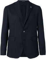 Tagliatore hat pin classic blazer - men - Silk/Cupro/Mohair/Virgin Wool - 44