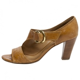 Chloé Beige Leather Heels