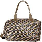 Orla Kiely Mini Wild Daisy Printed Zip Holdall Handbags