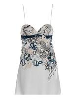 Mary Katrantzou Fidi embellished babydoll dress
