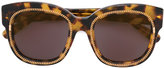 Stella McCartney tortoiseshell chain frame sunglasses