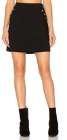 1 STATE A Line Button Skirt